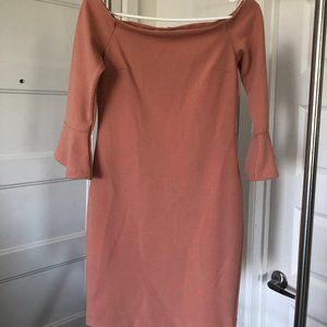 Dynamite - Coral Colored Dress